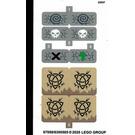 LEGO Sticker Sheet for Set 71721 (67959)