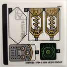 LEGO Sticker Sheet for Set 72005 (36975)