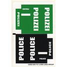 LEGO Sticker Sheet for Set 7245 (Black / Green Version) (52800)