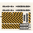 LEGO Sticker Sheet for Set 7249 (53230)