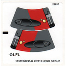 LEGO Sticker Sheet for Set 75001 (13357)