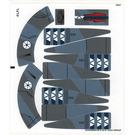 LEGO Sticker Sheet for Set 75041 (16342)