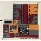 LEGO Sticker Sheet for Set 75052 (17594)