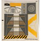 LEGO Sticker Sheet for Set 75053 (17600)