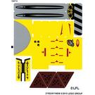 LEGO Sticker Sheet for Set 75092 (21521 / 21522)