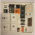 LEGO Sticker Sheet for Set 75098 (21539)