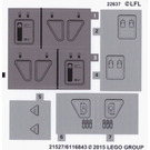 LEGO Sticker Sheet for Set 75100 (21527 / 21528)
