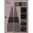 LEGO Sticker Sheet for Set 75106 (21516 / 21517)