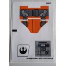 LEGO Sticker Sheet for Set 75115 (25166)