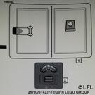 LEGO Sticker Sheet for Set 75138 (25703)