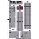 LEGO Sticker Sheet for Set 75154 (28524 / 28526)