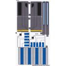 LEGO Sticker Sheet for Set 75155 (28616 / 28617)