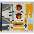 LEGO Sticker Sheet for Set 75170 (30818)