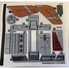 LEGO Sticker Sheet for Set 75176 (35003)