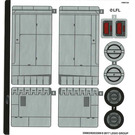 LEGO Sticker Sheet for Set 75188 (35603)
