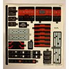 LEGO Sticker Sheet for Set 75190 (34997)