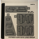 LEGO Sticker Sheet for Set 75200 (37278)
