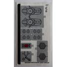 LEGO Sticker Sheet for Set 75201 (36952)