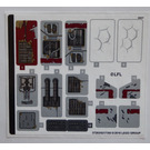 LEGO Sticker Sheet for Set 75202 (37283)