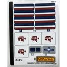 LEGO Sticker Sheet for Set 75205 (36940)