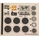 LEGO Sticker Sheet for Set 75212 (38590)