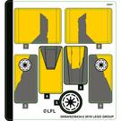 LEGO Sticker Sheet for Set 75214 (39564)