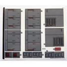 LEGO Sticker Sheet for Set 75217 (39590)