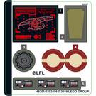 LEGO Sticker Sheet for Set 75234 (48301)