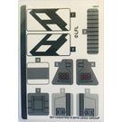 LEGO Sticker Sheet for Set 75242 (50113)