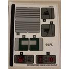 LEGO Sticker Sheet for Set 75243 (50112)
