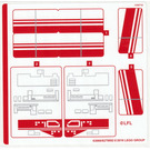 LEGO Sticker Sheet for Set 75249 (63966)