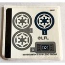 LEGO Sticker Sheet for Set 75262 (50115)