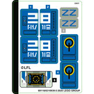 LEGO Sticker Sheet for Set 75293 (69118)
