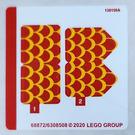 LEGO Sticker Sheet for Set 75550 (68872)