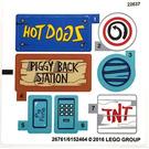 LEGO Sticker Sheet for Set 75824 (26761)
