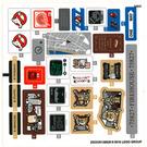 LEGO Sticker Sheet for Set 75827 (25233)