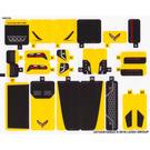 LEGO Sticker Sheet for Set 75870 (24743 / 24744)