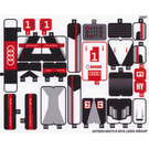 LEGO Sticker Sheet for Set 75872 (24752)