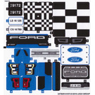 LEGO Sticker Sheet for Set 75875 (24760 / 24762)