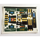 LEGO Sticker Sheet for Set 75884 (37571)