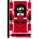 LEGO Sticker Sheet for Set 75890 (49141)