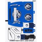 LEGO Sticker Sheet for Set 75916 (21366 / 21367)