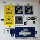 LEGO Sticker Sheet for Set 75920 (21375 / 21376)