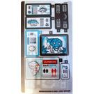 LEGO Sticker Sheet for Set 75939 (68068)