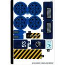 LEGO Sticker Sheet for Set 75940 (68131)