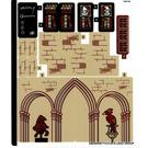 LEGO Sticker Sheet for Set 75948 (55639)