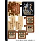 LEGO Sticker Sheet for Set 75966 (67832)