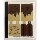 LEGO Sticker Sheet for Set 75967 (67842)
