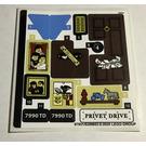 LEGO Sticker Sheet for Set 75968