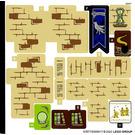 LEGO Sticker Sheet for Set 75969 (67877)